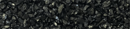Textura del medio filtrante antracita